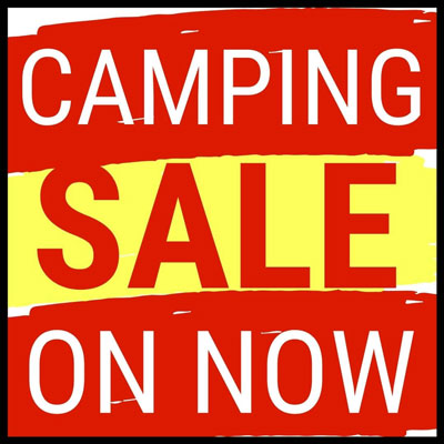Goodspanner Camping Sale